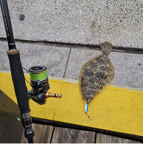 5PCS Deep sea Fishing Jigging Glow zebra Slow Jig Spoon Lure baits 30//40//60g
