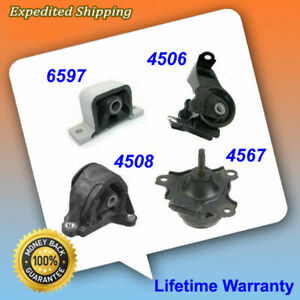 M403 6597 4567 4508 4506 Transmission Engine Motor Mount For 02-06 Acura RSX AT
