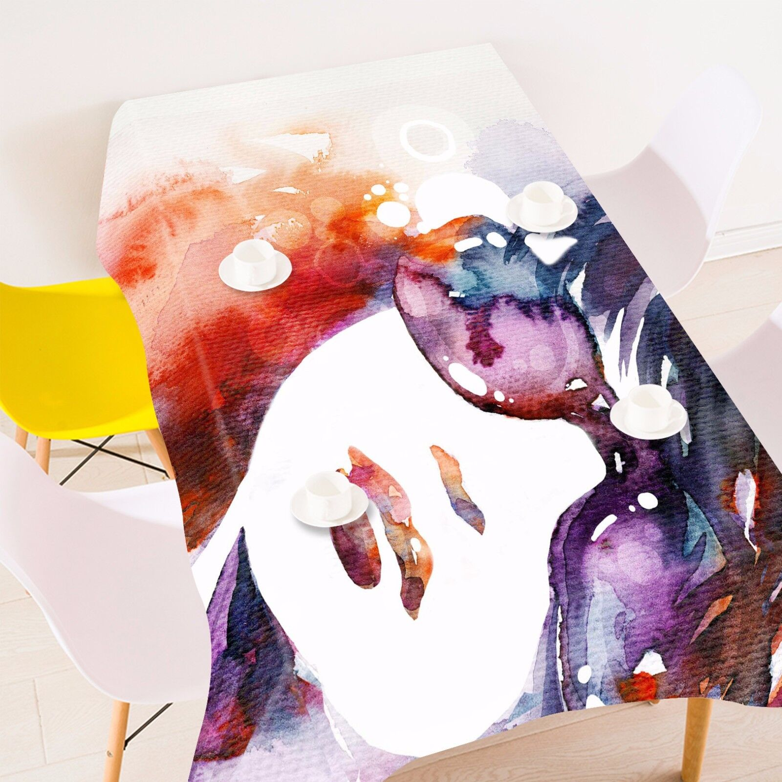 3D Woman Graffiti Tablecloth Table Cover Cloth Birthday Party Event AJ WALLPAPER