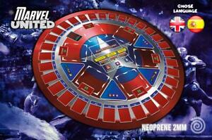 UNOFFICIAL INeoprene mat compatible with the Marvel United board game