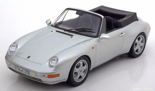 993 Carrera Convertible 1994 with Softtop 1:18 Norev Porsche 911