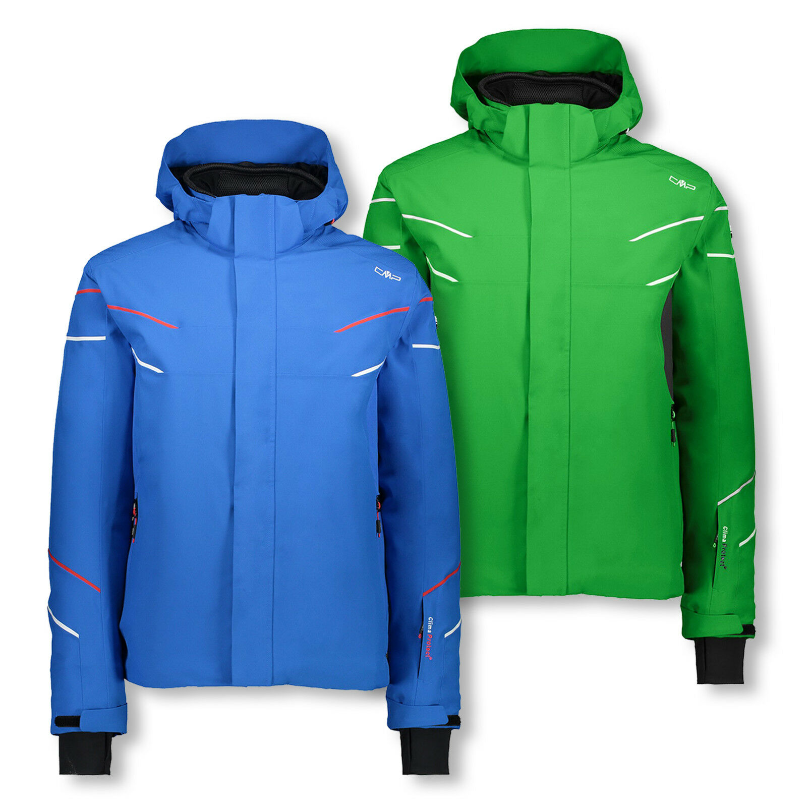 CMP Giacca Sci Uomo Giacca Invernale Giacca Cappuccio Zip Hood Jacket Coloreeee a scelta