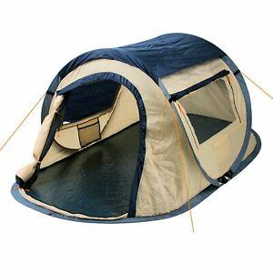 Wurfzelt 2 Personen Zelt Pop Up Campingzelt Sekundenzelt Festival Trekkingzelt