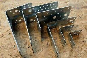 Schwerlast Winkel mit Sicke 50 -172 mm Bauwinkel Holzverbinder