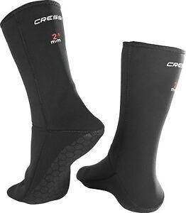 Cressi ANTI-SLIP NEOPRENE SOCKS, Neoprene Snorkeling Diving No-Slip Adult Socks