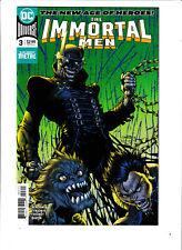 """Immortal Men 3  2018 Jim Lee Main Cover /""""Dark Nights Metal/"""" DC Comics NM"""
