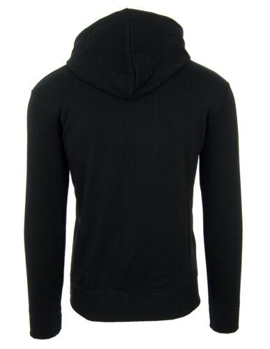 TRUSSARDI Herren Men Kapuzenpullover Hoodie Sweatshirt Schwarz Made in Italy
