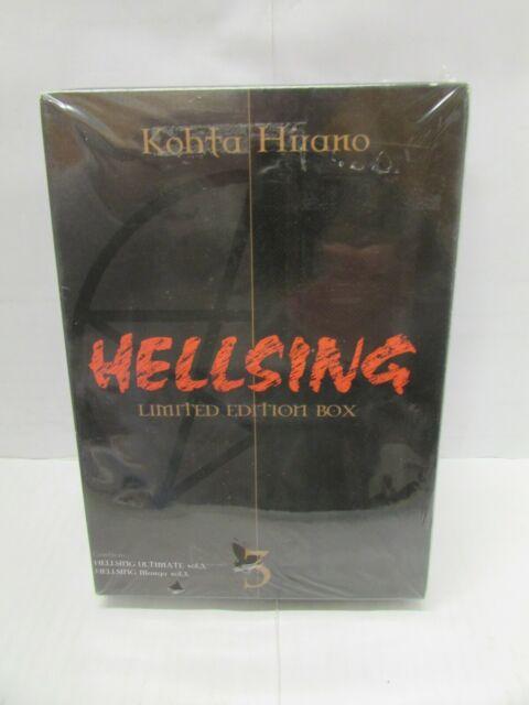 DVD . HELLSING LIMITED EDITION BOX n°3 - nuovo, blisterato - vedi foto - sc20 -