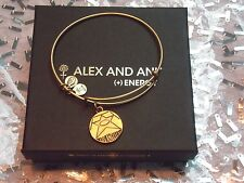 RETIRED Alex and Ani Los Angeles GOLD Hollywood Walk of Fame Star Bracelet rare