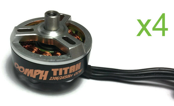 Armattan Oomph Titan Edition 2306 2450 KV Motor - Set of 4 (2 x CW, 2 x CCW)