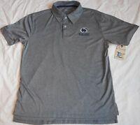 Penn State Chiliwear Polo Shirt Golf Coaches Men's M L Xl 2x Gray Polyester