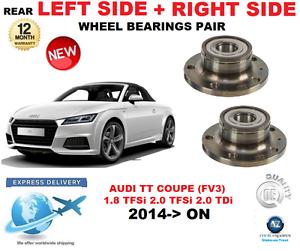 Für Audi Tt Hinterradlager Paar 2014-   nach Coupe Fv3 Links & Rechts Hand Side