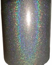 Silver Holographic .004 True Ultra Fine Nail Glitter Art Dust Powder DIY Polish!