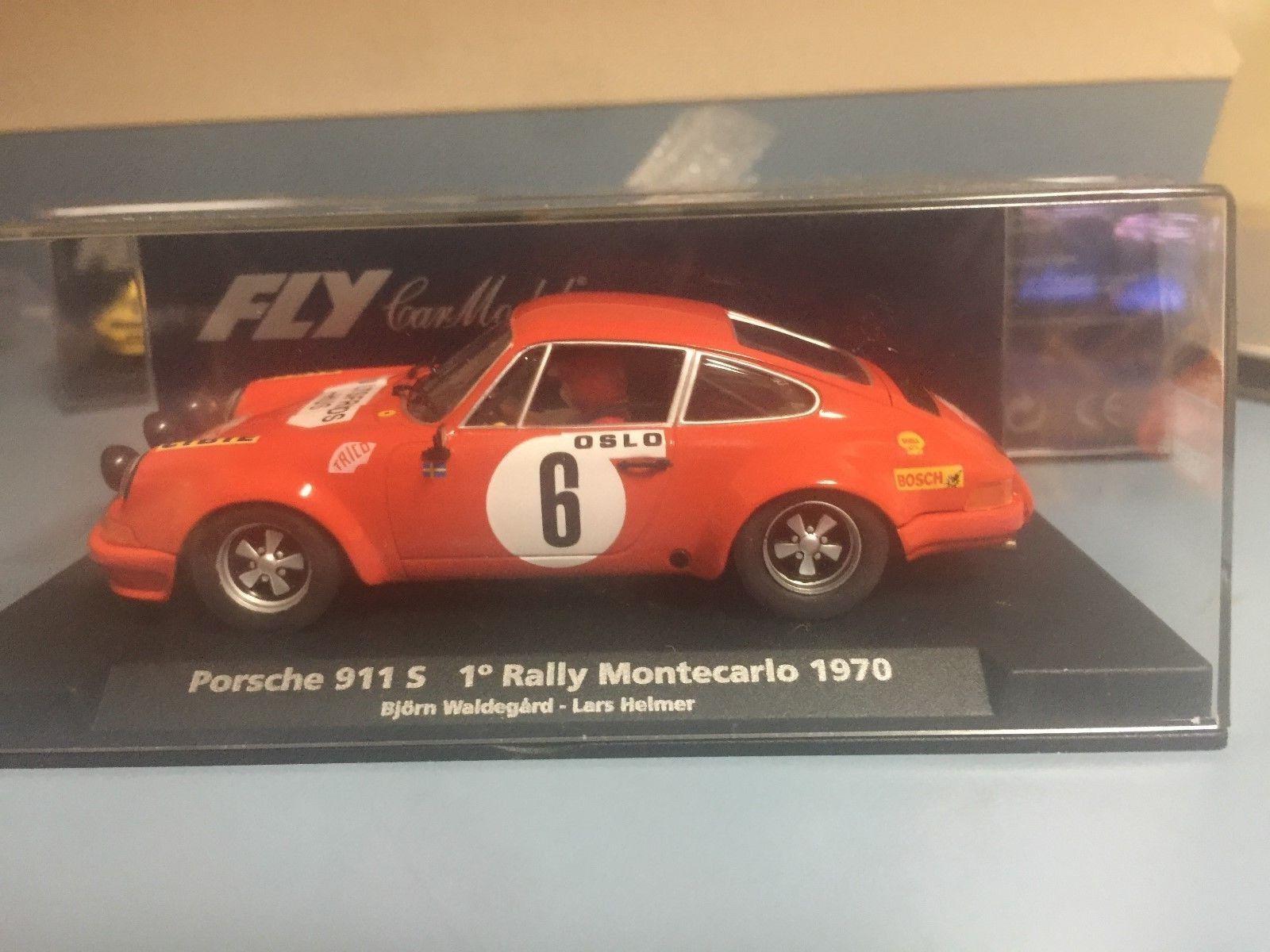 M B  FLY CAR  PORSCHE 911S 1 RALLYE MONTECARLO 1970  ref 88134    A-931