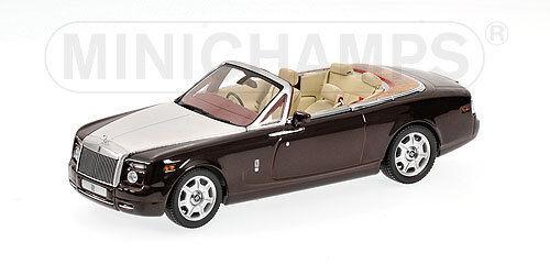 Rolls Royce Phantom Drophead Coupè marron Metallic  436134732 1 43 Minichamps