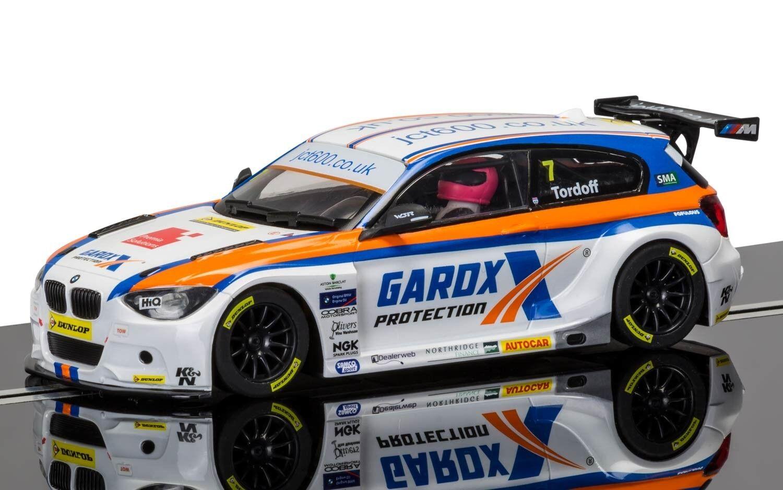 Scalextric C3735 BTCC BMW 125 Sam Tordoff, Croft Circuit 2015