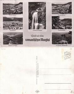 Knitterungen Kleinformat Mehrbildkarte Mugtal Baiersbronn stampsdealer