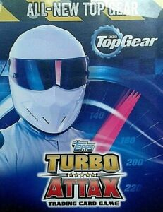 TURBO-ATTAX-TOP-GEAR-2016-BASE-BASIC-CARDS-001-TO-192-BY-TOPPS-CHOOSE