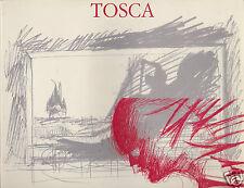 Tosca di Giacomo Puccini Teatro dell'Opera di Roma 1990-1991