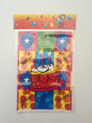 10-100 piezas Bolsas Goodie Loot de fiesta de cumpleaños Bolsas de Regalo 28*18cm Vela De Regalo Gratis
