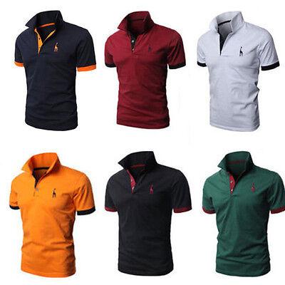 sports shoes 84eac 6ce50 Herren Poloshirt Kurzarm T-shirt Slim Fit Polohemd Freizeit ...