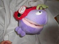 Hallmark Plush 9 Bonbon Purple Ladybug Bug Plush