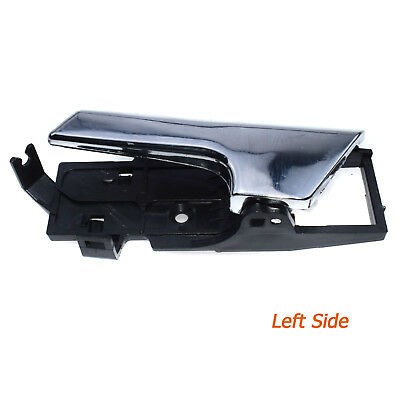Inside Door Handle Chrome Left Driver for Chevy Aveo G3 Wave 96462709,GM1352174