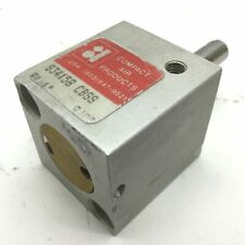 Compact S34x58 Cbss Pneumatic Cylinder Bore 075 Travel 0625 Clevis Bracket