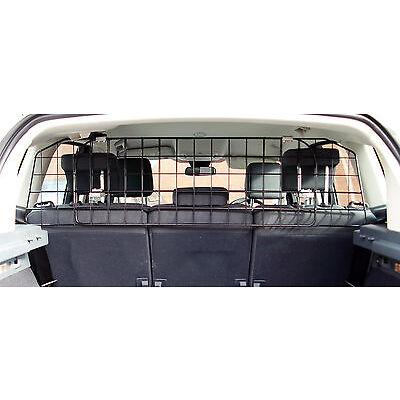 UNIVERSAL HEAVY DUTY MESH CAR DOG GUARD REAR PET TRAVEL CAGE ADJUSTABLE DGS