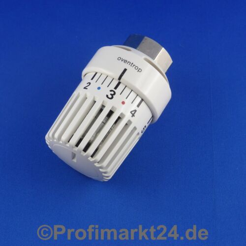 Oventrop Thermostatkopf Uni L weiß  M30x1,0 mit Null-Stellung