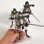 thumbnail 3 - Attack on Titan Action Figure Eren Mikasa Ackerman Levi Rivaille Figma PVC 13CM