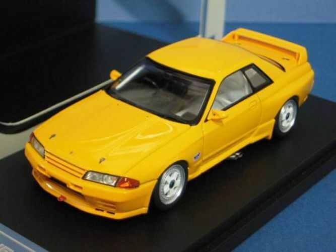 Hpi-racing 1 43 Nissan Skyline R32 Gr.A Yellow from Japan