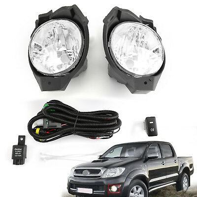4X L/&R Car Front Bumper Fog Lamps Driving Light Covers For Cadillac SRX 10-16 US