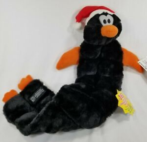 23-034-long-Penguin-16-squeaker-mat-Rattle-Holiday-Christmas-dog-toy-toys-puppy-B15