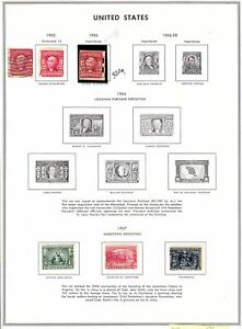 Early-U-S-collection-1903-to-1920-issues-12-pages-CV-300