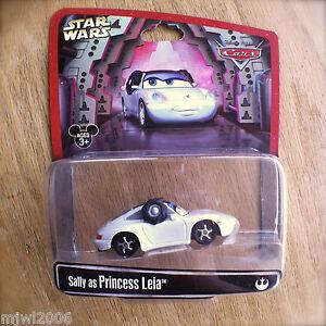 Disney pixar cars star wars sally as princess leia diecast rare disney parks ebay - Voiture sally cars ...