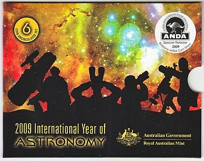 2009 INTERNATIONAL YEAR OF ASTRONOMY MINT SET ANDA SHOW MELBOURNE