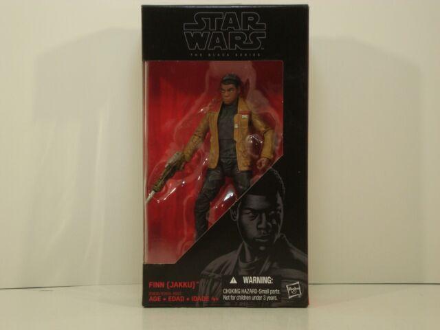 Jakku #01 NIB Hasbro 2015 Star Wars Black Series 6 inch figure FINN