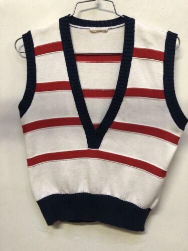 Vintage Courreges Knit Vest 70's