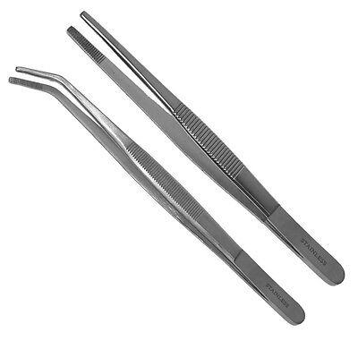 Anatomische Pinzetten 14,16,18, 20,25,30,35 oder 40cm  gerade oder gebogen