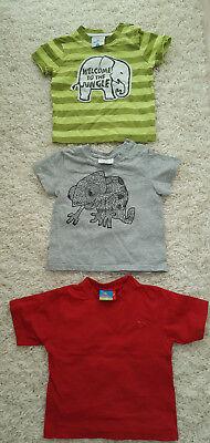 86 Ernsting's Family Moderne Techniken T-shirts & Polos Schlussverkauf 3 X T-shirt Junge Gr