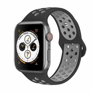 Replacement Silicone Band Strap Apple Watch Series 4 3 2 40mm 44mm Sport Nike Ebay