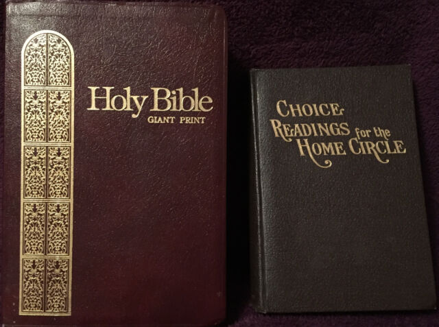 Scripture Bundle: Holy Bible Giant Print KJV ~ Choice Readings for Home Circle