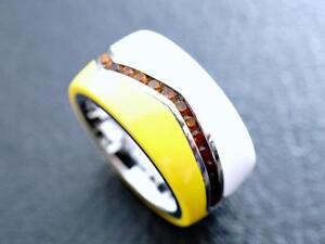 Designer-Betulla-Campo-Germany-Ring-orange-Steine-925-Sterlingsilber-a96