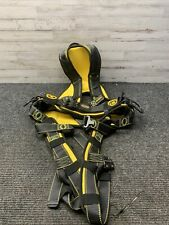 Used Guardian Fall Protection Cyclone Construction Harness Xxl Blackyellow