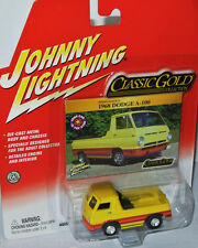 Classic Gold - 1968 DODGE A-100 - yellow/stripes - 1:64 Johnny Lightning