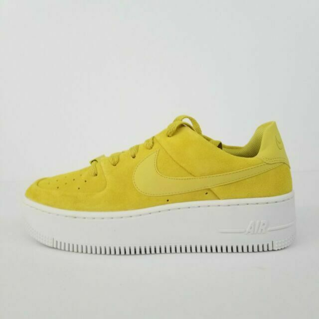 Size 10.5 - Nike Air Force 1 Sage Low Celery for sale online | eBay