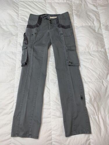 Donna Karan DKNY Jeans Women Cargo Military Pants