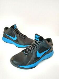 Nike Sz Overplay Basketball 004 Viii Blackblue637382 Men 8 Details Shoes About SVGjMpqzLU