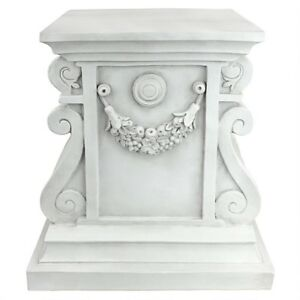 Classic-Statuary-Plinth-Design-Toscano-15-034-With-Antique-Stone-Finish